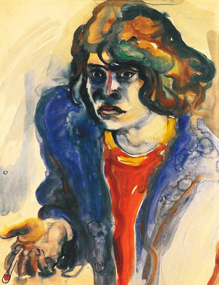 ELFRIEDE LOHSE-WÄCHTLER. Self-portrait. 1931.