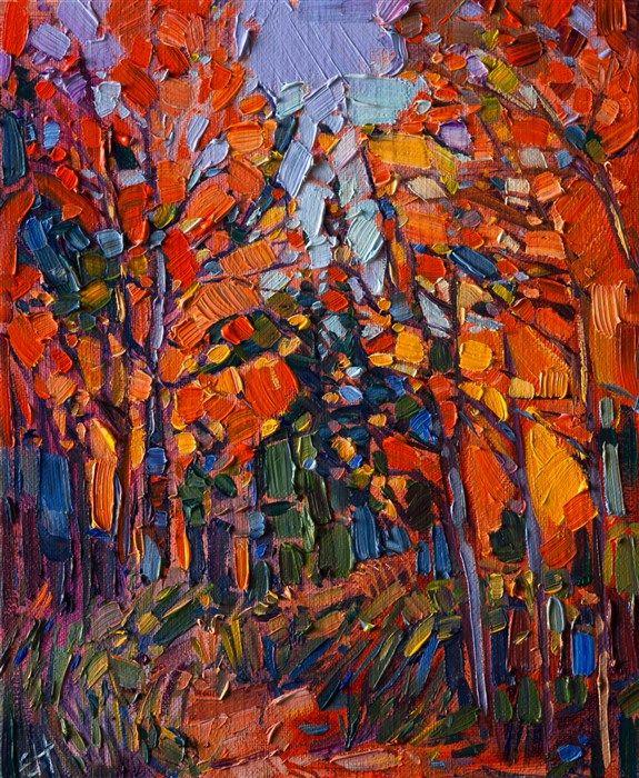 Aspens Park - Contemporary Impressionism | Landscape Oil Paintings for Sale by Erin Hanson