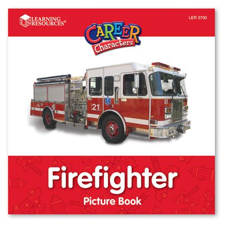 Learning Resources Firefighter Career Character - NuMercy.com
