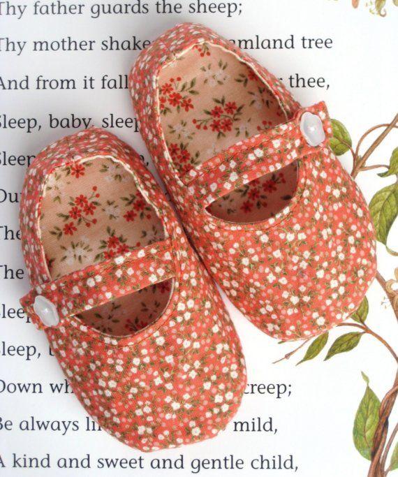 Mary Jane Baby Shoe Pattern