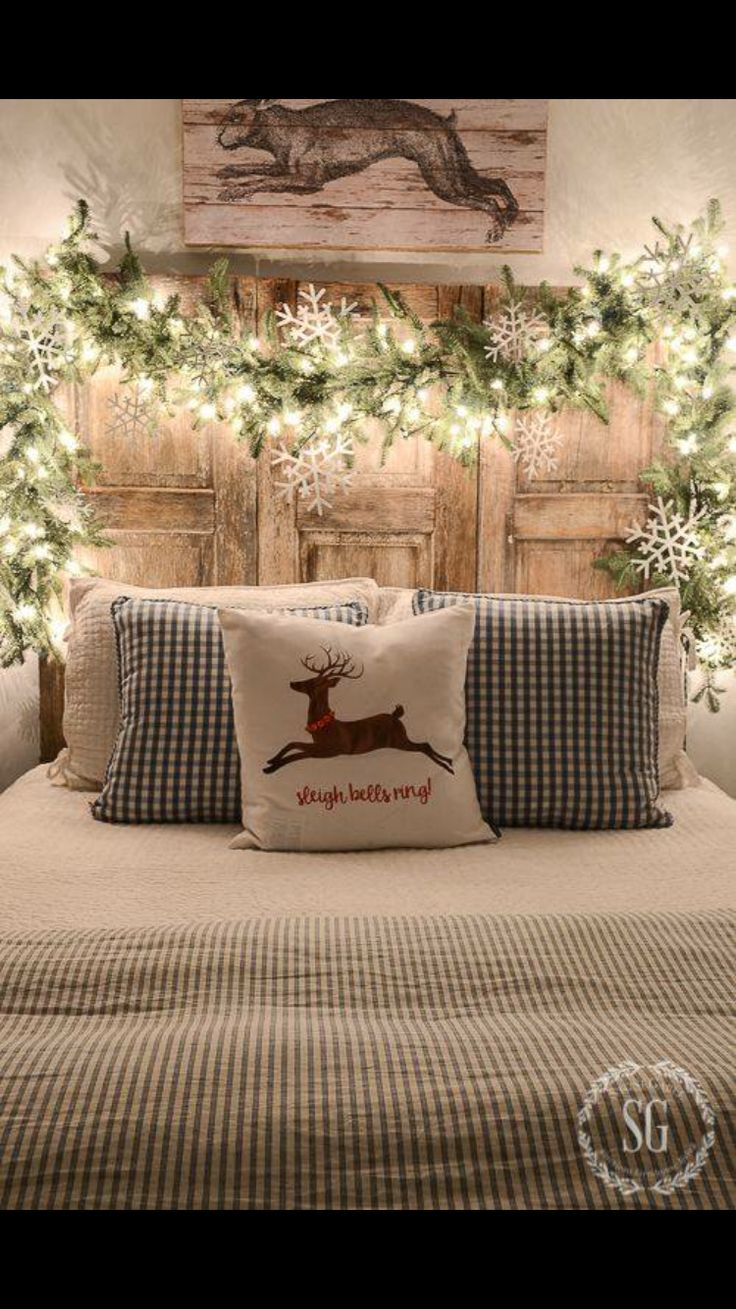 This looks like a good place to curl up and watch Christmas movies!