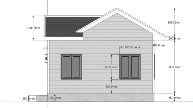 Tiny House Plans 7x6 With One Bedroom Cross Gable Roof Tiny House Plans House Plans Tiny House Plans 2 Storey House Design