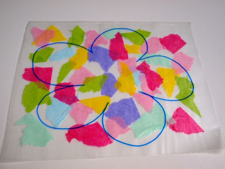 Step by step instructions and photos are provided in this easy tissue paper suncatcher craft tutorial. It's perfect for kids of all ages.