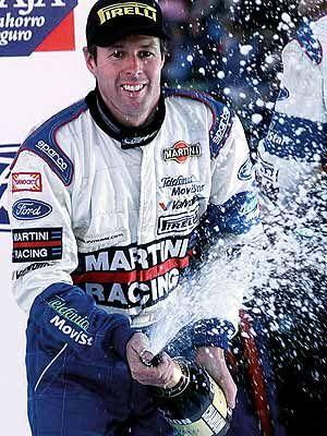 Colin McRae (Sco). WRC World Rally Champion 1995. R/up (1996,97,01). 25 wins, 42 podiums. Killed in helicopter crash which he was piloting near his home with his son and two family friends 2007.
