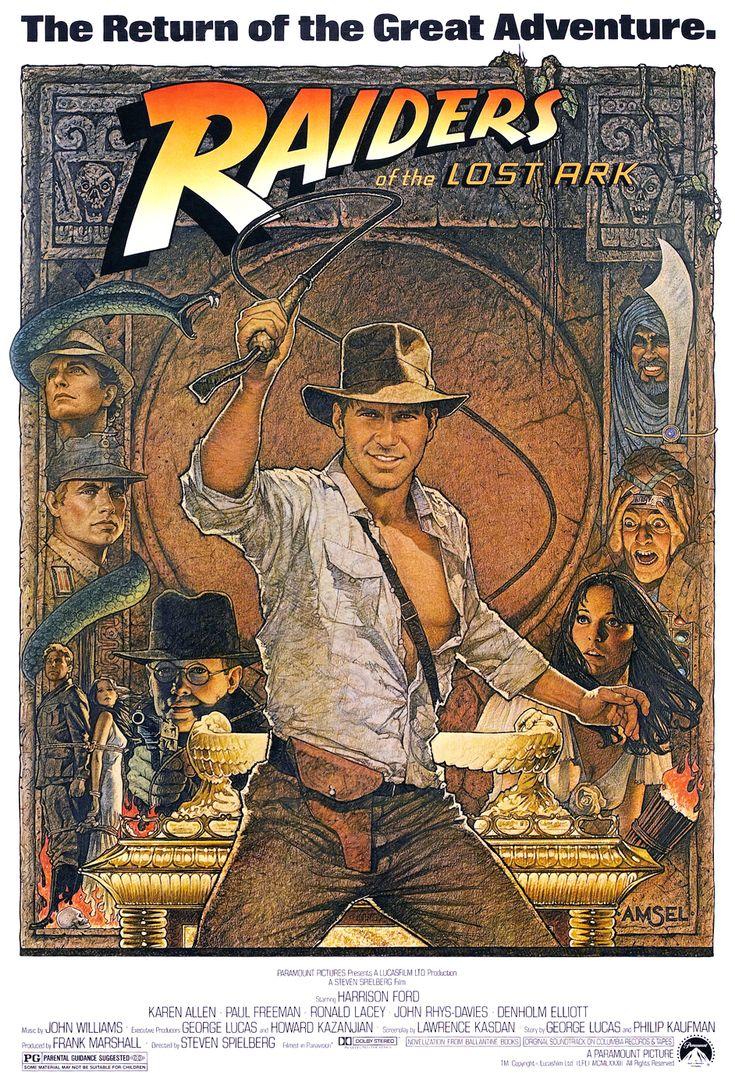 """""""I predatori dell'arca perduta"""" (1981), di Steven Spielberg"""