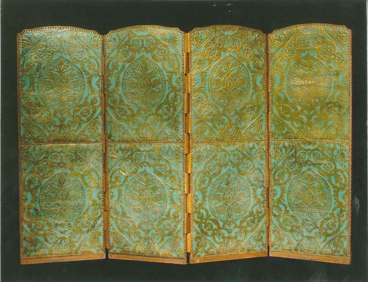 Antiek Kamerscherm begin 17e eeuw - Goudleer-atelier Van SoestGoudleer-atelier Van Soest