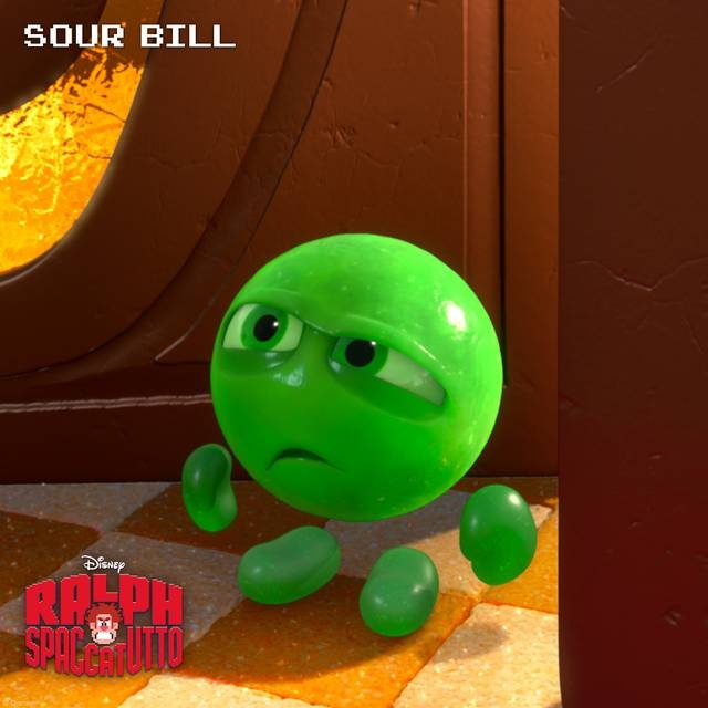 #RalphSpaccatutto Character Rollout Sour_Bill