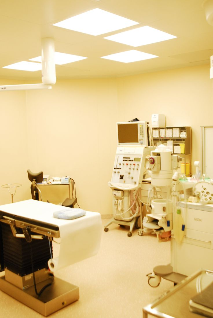Operating room in the #Iscare for #plasticsurgery.