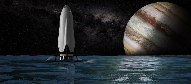 Марсианские обои: SpaceX выложила картинки, с которыми приятно мечтать о космосе — Meduza