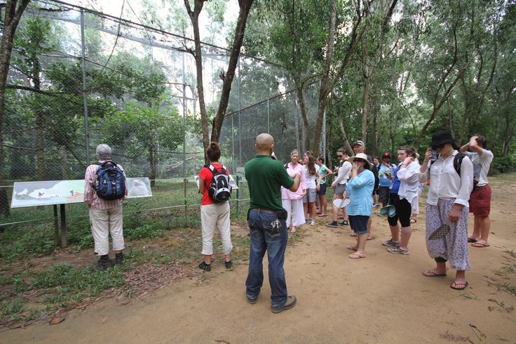 The Angkor Centre for the Conservation of Biodiversity. #VietnamSchoolTours #Cambodia #SiemReap