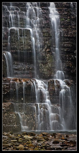 ✯ Hartnett Falls, Tasmania- Australia