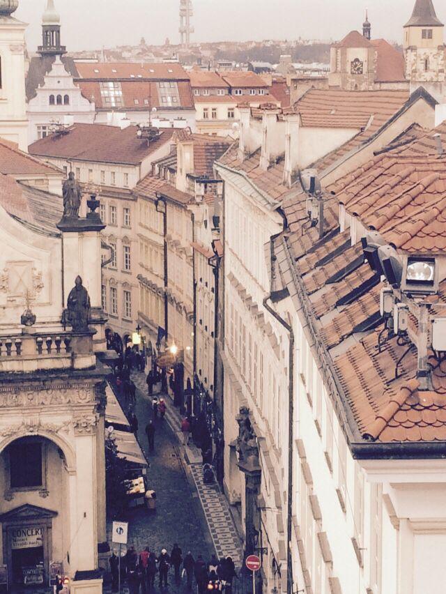 Prague, view