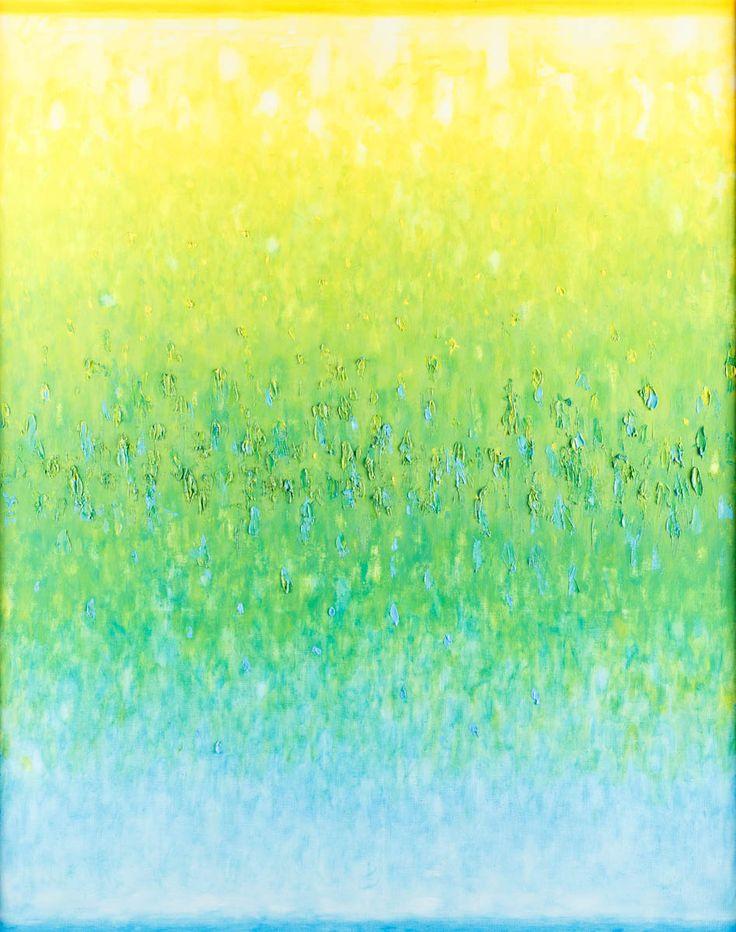 STEFAN GIEROWSKI (1925)  DCCCLXII, 2009   olej, płótno / 150 x 120 cm