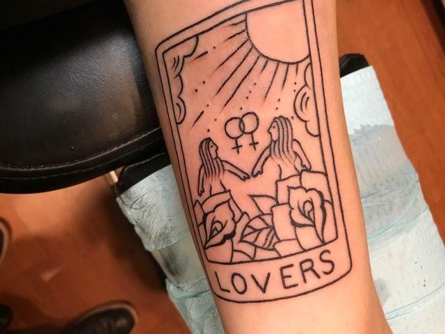 Pinterest Amyypins Rainbow Tattoos Tarot Tattoo Pride Tattoo