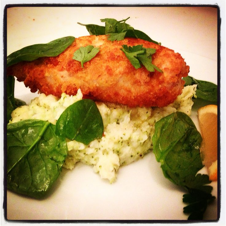 The best Chicken Kiev I've ever had made by my own fair hands! Jamie Oliver's Comfort Food