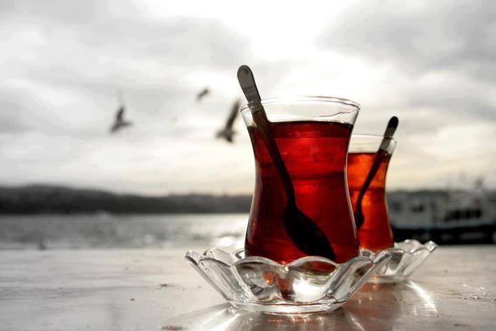 Turkish Tea at ISTANBUL