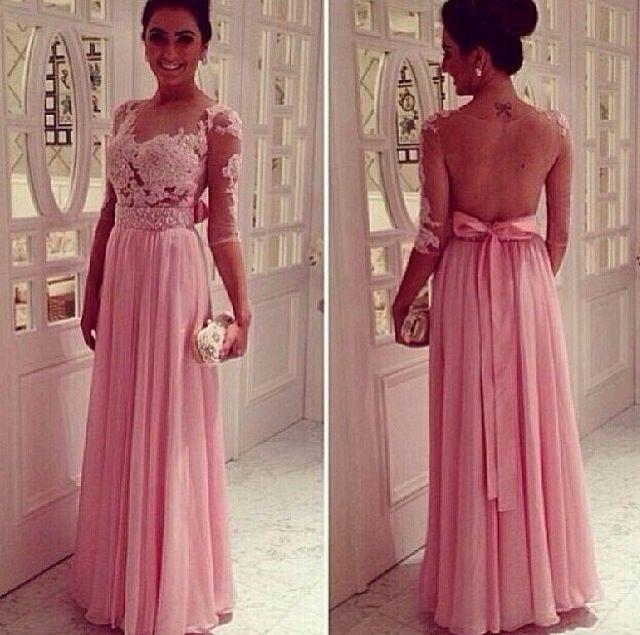 4848e0cc68 Madrinhas em tons de rosa - Inspirações Pinterest ! 5
