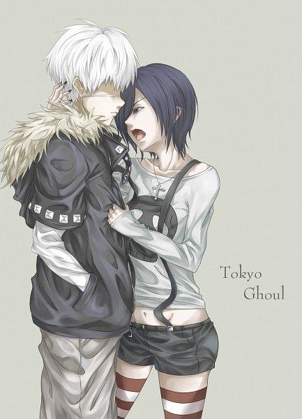 Tokyo Ghoul. I ship them :)