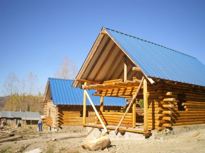 47 best caba a de troncos images on pinterest log cabins wood houses and wooden houses - Appalachian container cabin ...