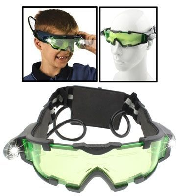 amazones gadgets EA Night Vision Goggles with Flip-out Blue LED Lights: Bid: 13,66€ Buynow Price 13,66€ Remaining 08 dias 15 hrs