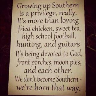 Truth about us Southerners