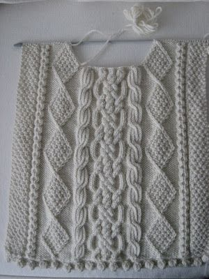 WILLOW'S COTTAGE: Aran Sweater