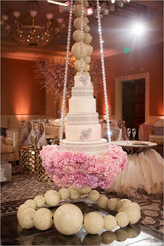 hanging wedding cakes - Google Search