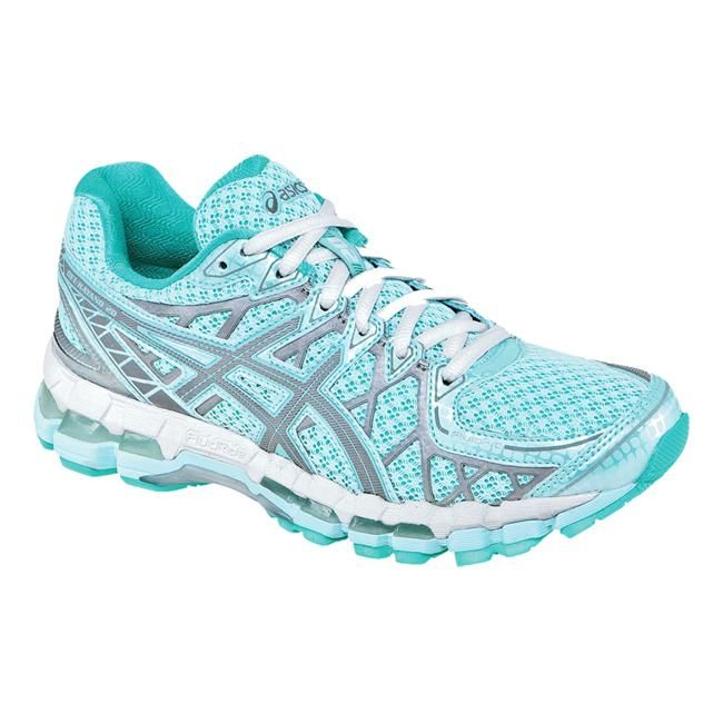 Asics Gel Kayano 20 great road running shoes I have had them before and they lasted me 6 months which is 2 months over how many you should have them for.