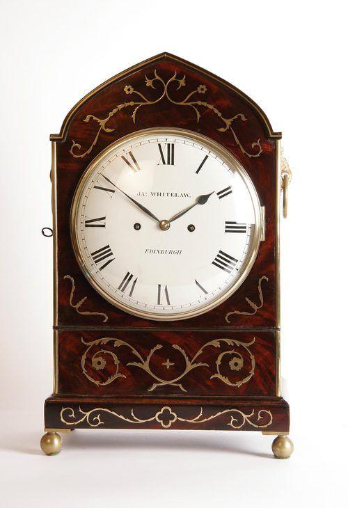 Antiques Atlas James Whitelaw Bracket Clock  79 best images about Edinburgh  Scottish Antiques on Pinterest. Edinburgh Antique Furniture   makitaserviciopanama com
