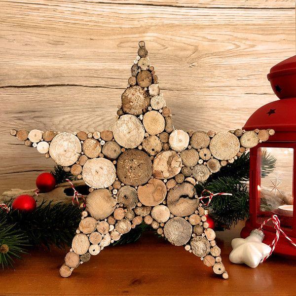 Die besten 25 weihnachtsdeko holz ideen auf pinterest - Dawanda weihnachtsdeko ...