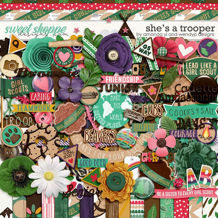 She's A Trooper by Amanda Yi & WendyP Designs