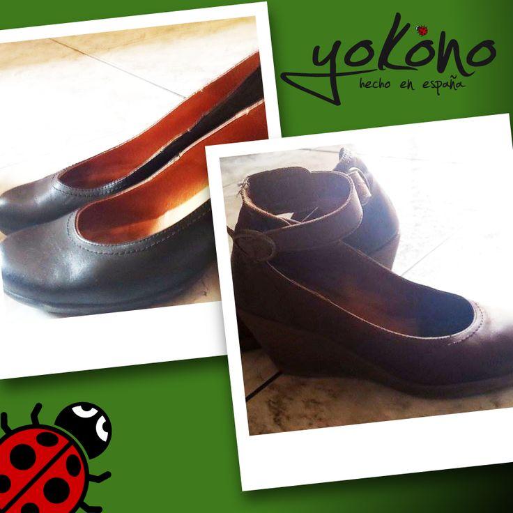 """Minerva Ojeda nos manda estas fotitos de sus zapatos #Yokono. Ella misma define con estas palabras nuestro calzado: """".siempre digo que mis Yokono son lo que los neumáticos son para mi coche...si me preocupa poner el mejor neumático para la seguridad de mi coche...como no llevar yo los mejores zapatos que he encontrado para mis pies..."""""""