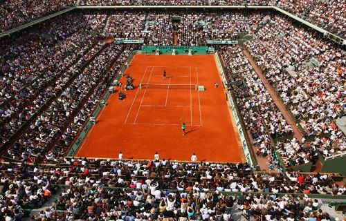 Grand Slam count, 2 of 4.  Roland Garros