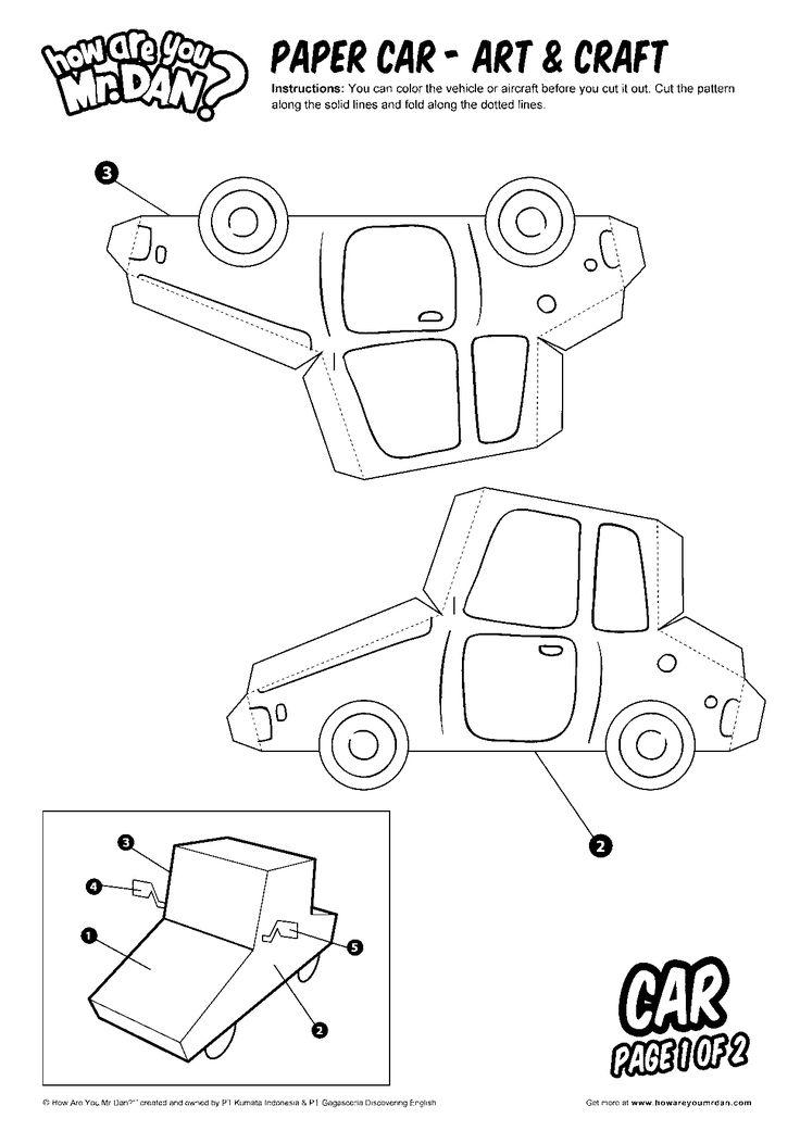 Paper Car 01