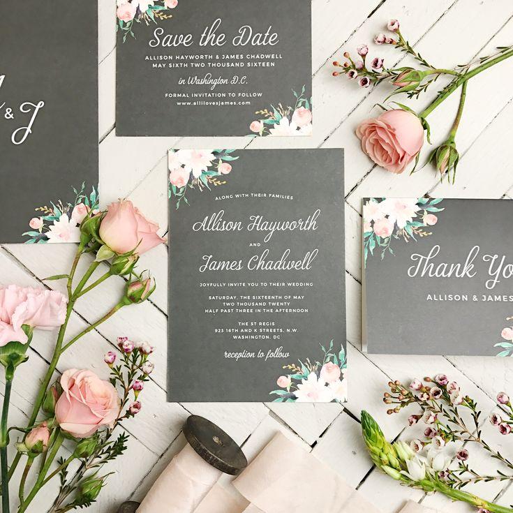 25 best Wedding Invitations images on Pinterest Wedding stationery - fresh birthday invitation video templates