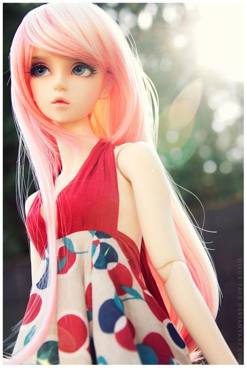 Cotton Candy II  Evelyn - Volks SD16 Kira #Dolls #Bjds #Balljointeddolls