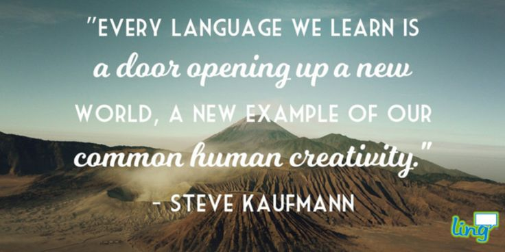 """Every language we learn is a door opening up a new world..."" - Steve Kaufmann #LanguageLearning #HumanCreativity #LearnAtLingQ"