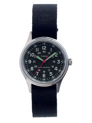 Timex military watch for J.Crew, $150   - Esquire.com