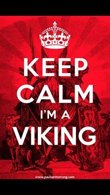 Viking on, I'm directly related to Erik the Red.