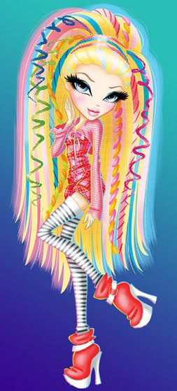 bratz cleo cartoon | Featherageous_Cloe_(Cartoon).PNG