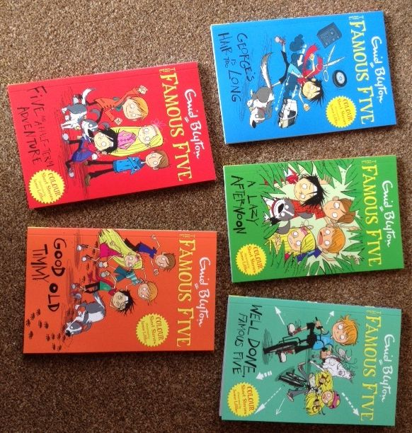Book review of Hodder's new series of Famous Five colour Short Stories featuring Enid Blyton's original text with modern illustrations.