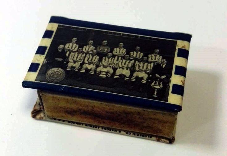 Huddersfield Town FC 1922/23 matchbox holder