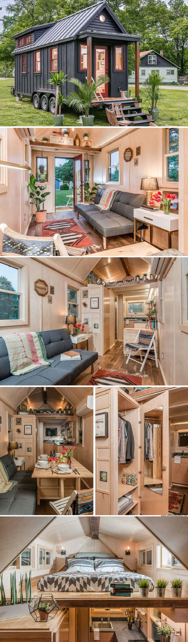 The Riverside Tiny House From New Frontier Homes