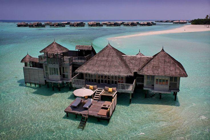 Maldive - Atollo di Male - resort di lusso gili-lankanfushi