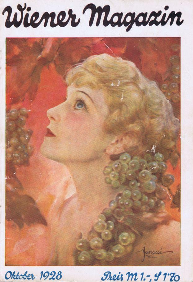 Wiener Magazin  October 1928  Cover by Manasse