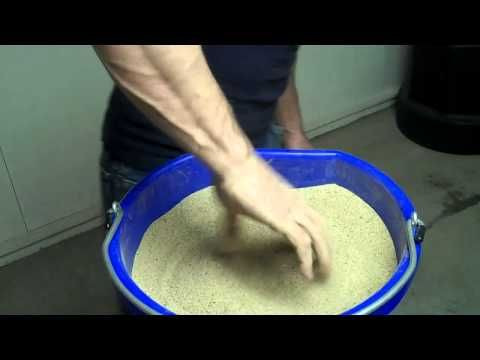 Learn about Sand Bucket Hand Exercises - Martial Arts Strengthening Drill - Black Belt Wiki