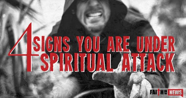 15,752There are more than four signs of being under spiritual attack but here are four signs that may help you know that you are. Feelings of Worthlessness Some the most frequent causes of spiritual attacks come when you have overcome a major sin, you have had a time of great success, and you are consistently ...