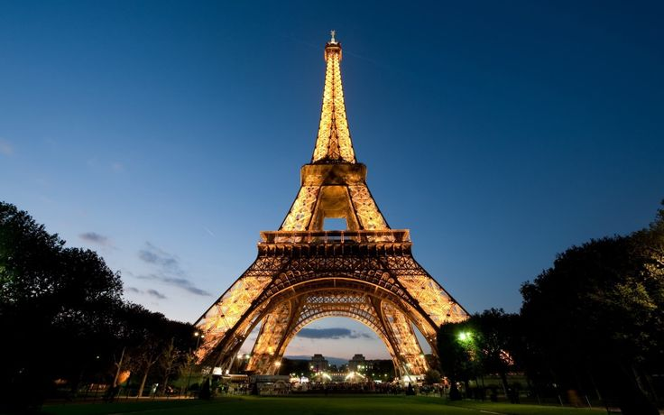 Nothing says Paris than the Eiffel Tower.