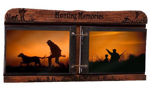 "Hunting Memories"""" Tabletop 4x6 Photo Album"