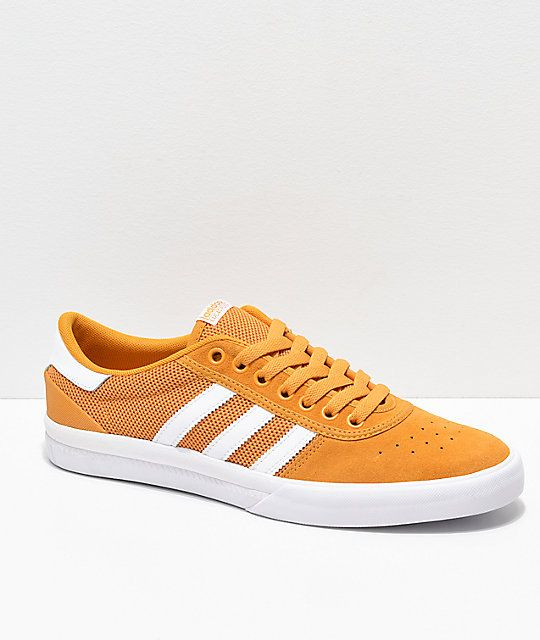 newest 809fd 61b60 adidas Lucas Premiere ADV Tactile Yellow   White Shoes